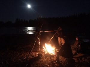 Campfire after Paddle