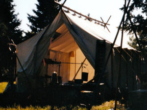 Bushcraft-Wall Tent